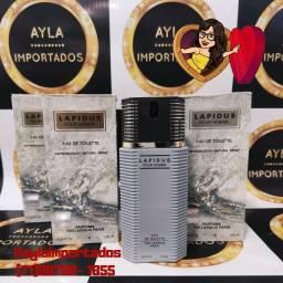 Perfume Lapidus EDT 100ml -Selo Adipec/Batch Code/Nota Fiscal