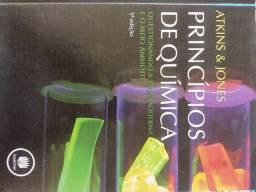7 Livros de Química em excelente estado de conservação