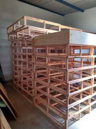 Grade/base da cama box