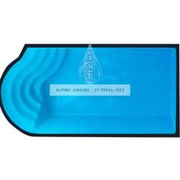 JA Piscina 6 metros , piscina de fibra Alpino