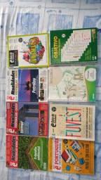(DOACÃO) Revistas para estudo Vestibular