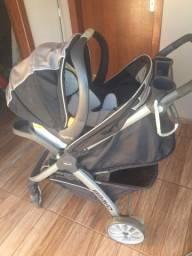 carrinho de bebê: chicco bravo travel system