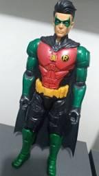 Boneco Robin Mattel 30 Cm - Figura Dc Batman Missions
