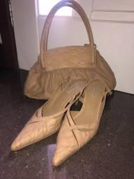 Scarpin bolsa e sapato