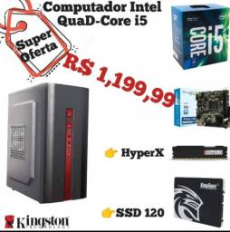 Super PC Core I5+Mobo Intel+SSD 120GB+HyperX ( Lacrado )