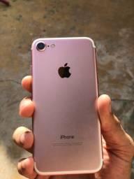 IPHONE 7 ROSE 32 G / SEM NEM 1 DETALHE, SÓ PEGA E USA O APARELHO