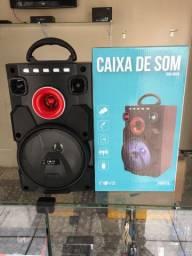 Caixa de Som Inova Bluethoo,FM,USB (Entrega Grátis em Anápolis)