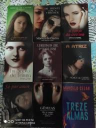 Romances Espiritas - Lote com 50 livros