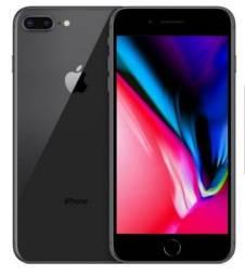 Iphone 8 plus 64 gigas preto
