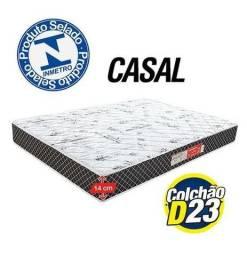 Título do anúncio: Colchão de Casal D23 com espuma | NOVO!!