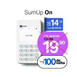Título do anúncio: Setembro recheado - SumUp ON com 30% de desconto + R$ 100 em taxas