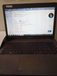 Vendo notebook Positivo Ultra