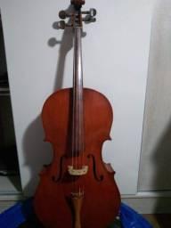 Título do anúncio: Violoncelo Europeu Stradivarius Cremonensis