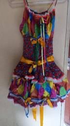 Vestido de quadri
