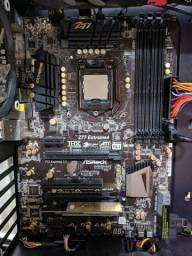 Kit i7 3770K, 16GB de ram, placa mãe Asrock Z77 Extreme 4