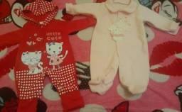 Lote de macacão bebê