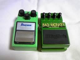 Pedal digitech bad monkey & ibanez tube screamer ts9