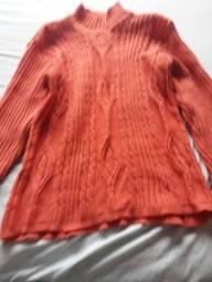 Blusa de lã tam G $10