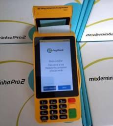 Máquina de cartões Moderninha Pró 2