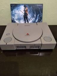 PlayStation 1 fat bloqueado.
