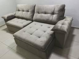 Título do anúncio: Sofa Retratil e Reclinável - ENTREGA GRÁTIS