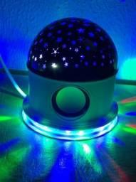 Projetor Estrelar Com Bluetooth- star master