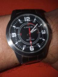Relógio analógico de metal Lince