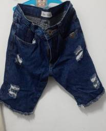 Título do anúncio: Bermuda Jeans / Tam: 10