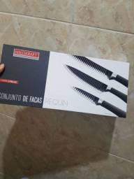Conjunto de facas importado  novo REQUIN