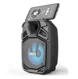 Caixa Bluetooth Kimiso ( Com suporte para celular)