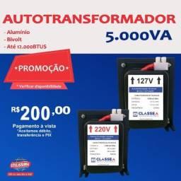 Transformador 5000va para Central de Ar de até 12.000 BTUS - Entrega Gratis