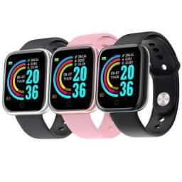 Smartwatch DX68 , Monitora , passos , calorias , frequência cardíaca