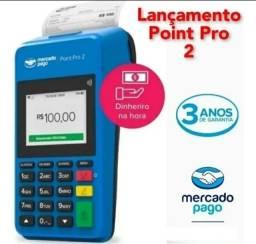 Maquininha de cartão mercado pago point pro 2