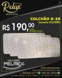Colchão D20 PELMEX solteiro R$190,00
