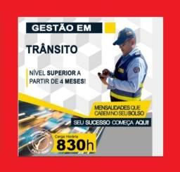Título do anúncio: Curso Superior em Gestão de Transito - Promoção