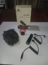 Microfone Direcional Compacto Greika GK-VM01