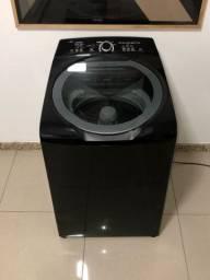 Máquina de Lavar 11kg Preta da Brastemp Conservada Entrego