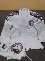 Kimono Jiu-Jitsu Completo com Faixa