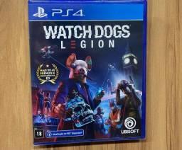 Jogo Watch Dogs Legion Ps4 Mídia Física Novo Lacrado