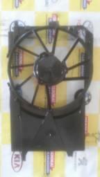 Defletor carenagem suporte ventoinha eletroventilador astra vectra zafira 2010 2011
