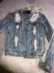 Jaqueta Jeans com pedras P