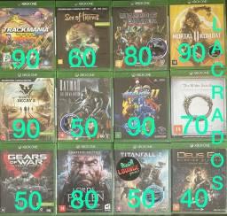 Jogos Xbox One - leia a descrição