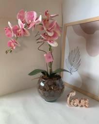 Vendo arranjos de orquídea permanente 75,00 a vista
