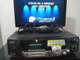 Videoke + microfone