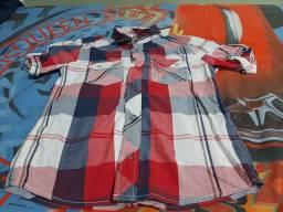 Camisa infantil,número 10.