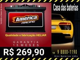 Bateria automotivas na promoção