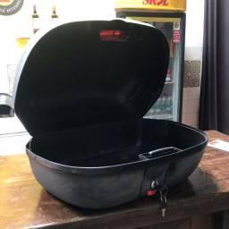 Bagageiro para moto TORK 45L smart box e suporte de bagageiro