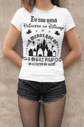 Camiseta Feminina Princesa Disney