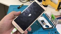 Troca de Conector Moto G6/G6 Play /G6 Plus - Cia Do Smart