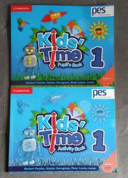 Apostila PES Positivo - Book Kids Time 1